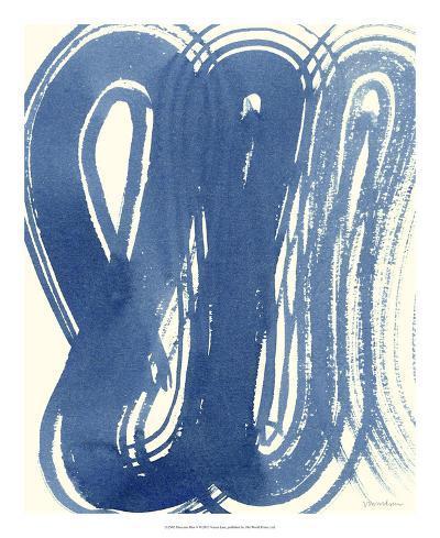 Macrame Blue V-Vanna Lam-Giclee Print