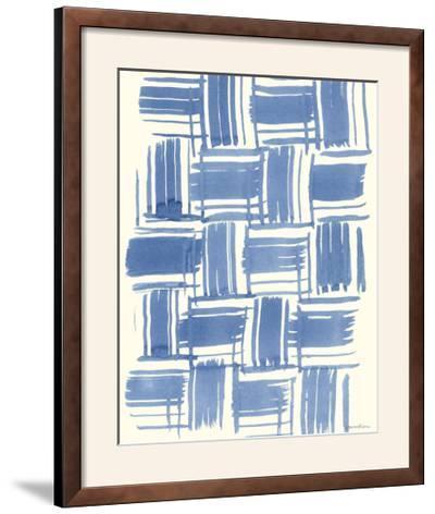 Macrame Blue VI-Vanna Lam-Framed Photographic Print