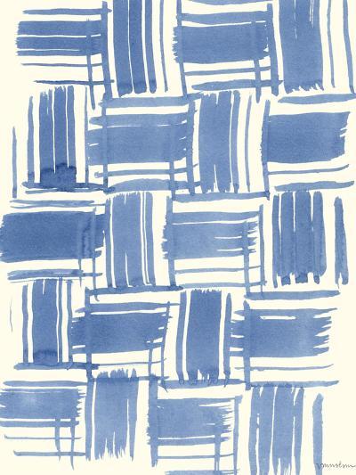 Macrame Blue VI-Vanna Lam-Art Print