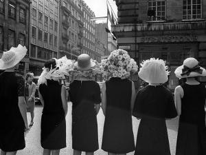 Mad as a Hatter: Mannequins Modelling Hats for the 1966 Royal Ascot Festival, May 1966