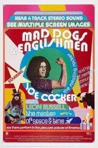 MAD DOGS AND ENGLISHMEN, , Joe Cocker (center), Leon Russell (bottom, left), 1971