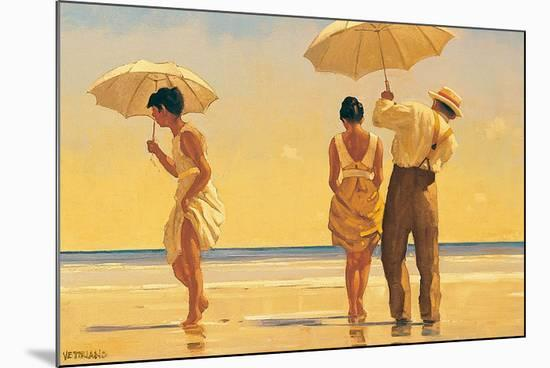 Mad Dogs-Jack Vettriano-Mounted Art Print