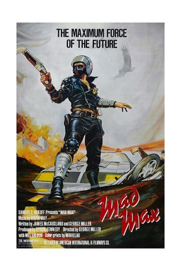 Mad Max, 1979--Giclee Print