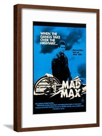 Mad Max, Mel Gibson on Australian poster art, 1979
