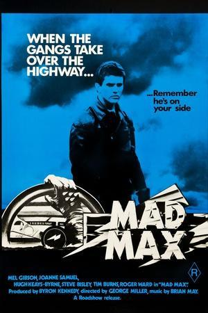 1979 Mad Max Movie Poster Art Print Posters 11/×14 inches Unframed Canvas Print