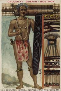 Madagascan Warrior, 19th Century