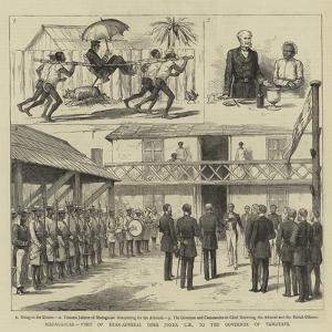 Madagascar, Visit of Rear-Admiral Gore Jones, Cb, to the Governor of Tamatave