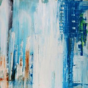 Blue Rain by Madam P