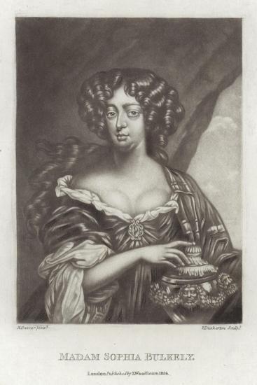 Madam Sophia Bulkely--Giclee Print