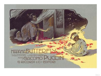 Madama Butterfly: The Struggle--Art Print