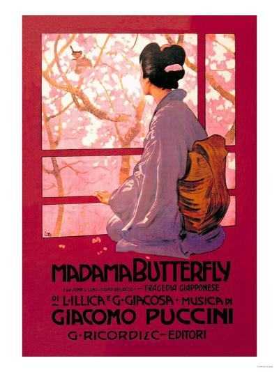 Madama Butterfly--Art Print