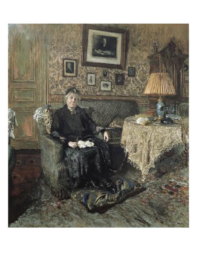 Madame Adrien Bénard-Edouard Vuillard-Art Print