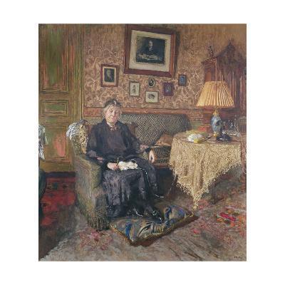 Madame Adrien Benard-Edouard Vuillard-Giclee Print