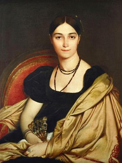 Madame Antonia Devaucay De Nittis, 1809-Jean-Auguste-Dominique Ingres-Giclee Print
