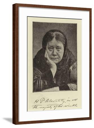 Madame Blavatsky--Framed Photographic Print