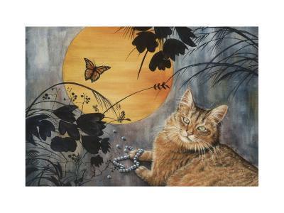 Madame Butterfly-Jeanette Tr?panier-Art Print
