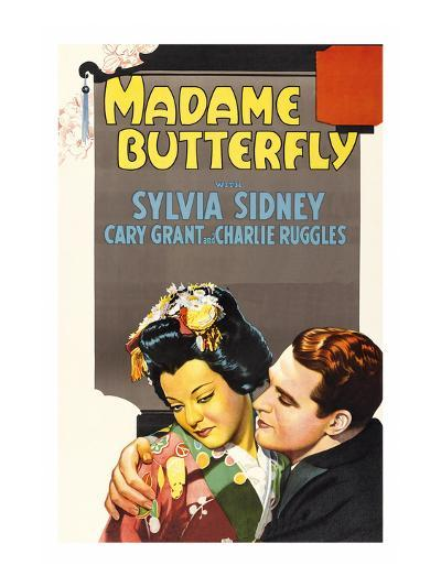 Madame Butterfly--Art Print