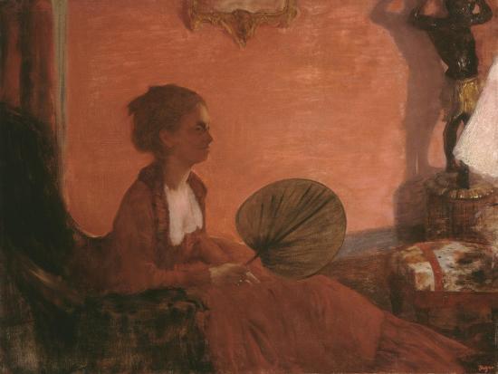 Madame Camus, 1869-70-Edgar Degas-Giclee Print