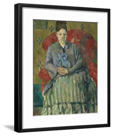 'Madame Cézanne in a Red Armchair by Paul Cézanne' Giclee ...