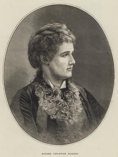 Madame Christine Nilsson--Giclee Print
