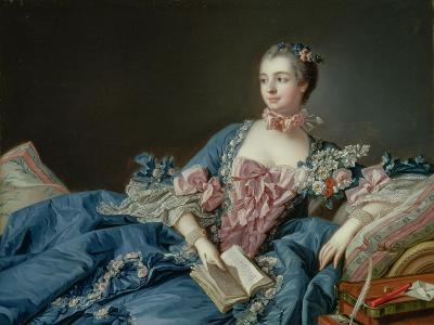 Madame De Pompadour, C.1758-Francois Boucher-Giclee Print