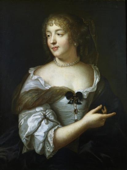 Madame De Sevigne, French Courtier and Letter Writer, 17th Century-Claude Lefebvre-Giclee Print