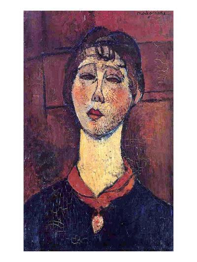 Madame Dorival, 1916-Amedeo Modigliani-Giclee Print