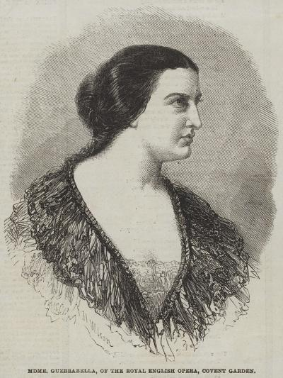 Madame Guerrabella, of the Royal English Opera, Covent Garden-Thomas Harrington Wilson-Giclee Print