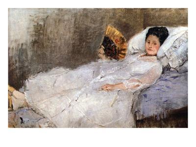 Madame Hubard-Berthe Morisot-Art Print