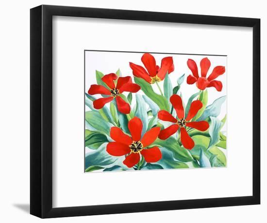 Madame Lefeber Tulips 2-Christopher Ryland-Framed Giclee Print
