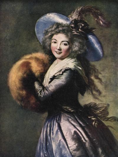 Madame Mole-Reymond, 1786-Elisabeth Louise Vigee-LeBrun-Giclee Print