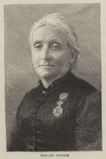Madame Ronner--Giclee Print