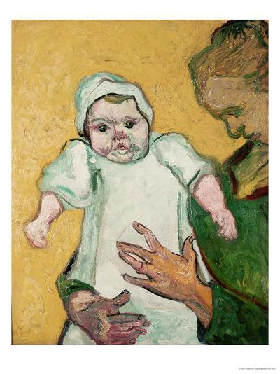 Madame Roulin and Her Baby, November 1888-Vincent van Gogh-Giclee Print