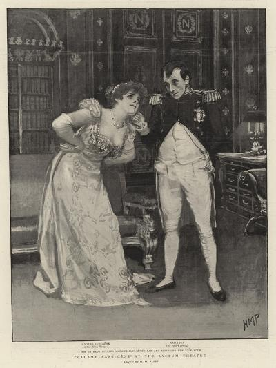 Madame Sans-Gene at the Lyceum Theatre-Henry Marriott Paget-Giclee Print