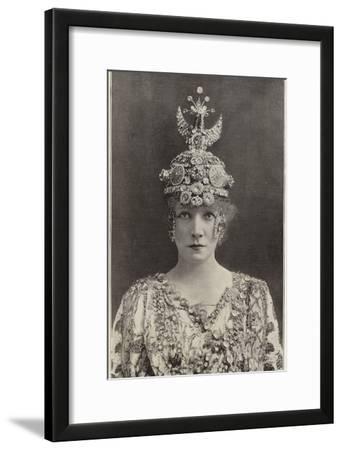 Madame Sarah Bernhardt as Theodora