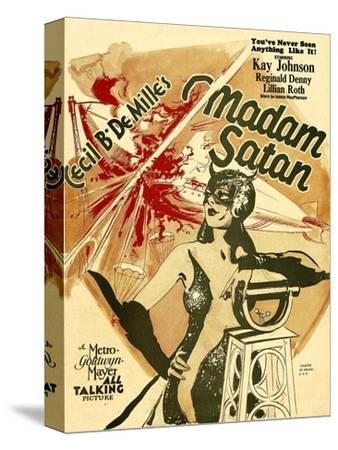 Madame Satan, Kay Johnson on Window Card, 1930