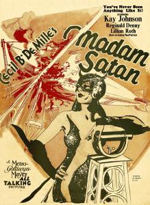 Madame Satan, Kay Johnson on Window Card, 1930