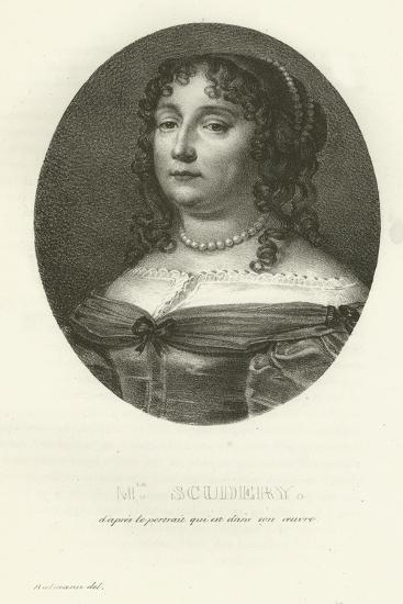 Madame Scudery--Giclee Print