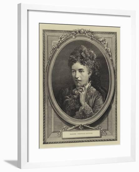 Madame Trebelli-Bettini--Framed Giclee Print