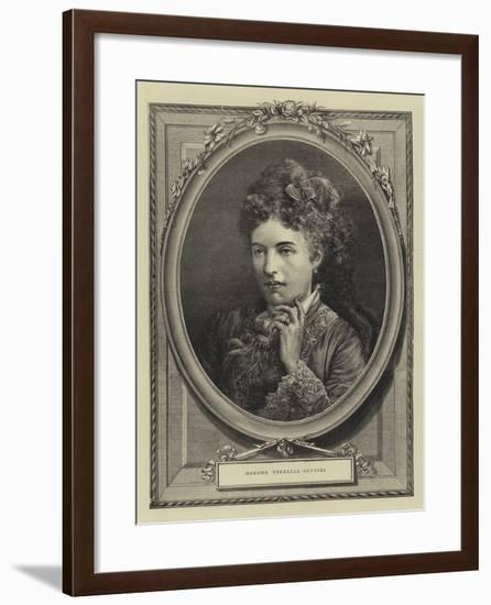 Madame Trebelli-Bettini--Framed Giclee Print