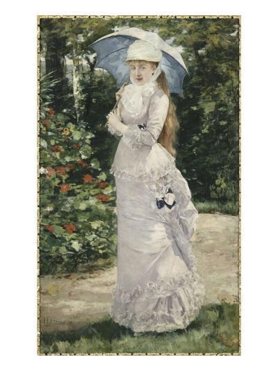 Madame Valtesse de la Bigne (1861-1910)-Henri Gervex-Giclee Print