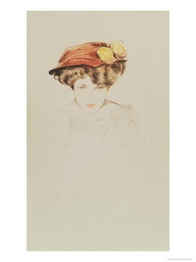 Madame Wolffe-Paul Cesar Helleu-Giclee Print