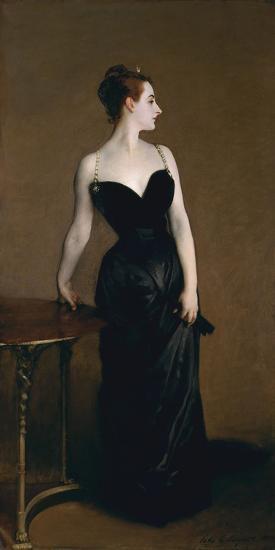 Madame X (Madame Pierre Gautreau), 1883-John Singer Sargent-Art Print
