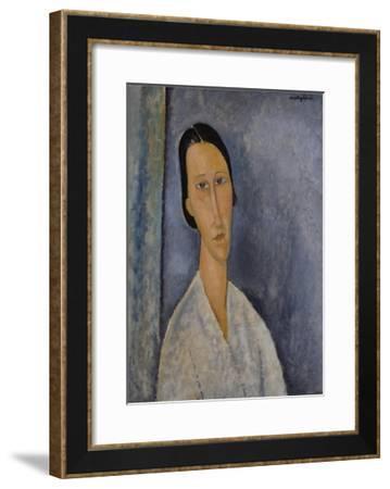 Madame Zborowska-Amedeo Modigliani-Framed Giclee Print