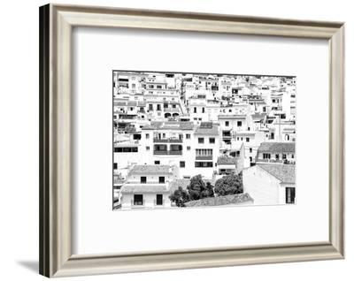 Made in Spain B&W Collection - White village of Mijas-Philippe Hugonnard-Framed Photographic Print