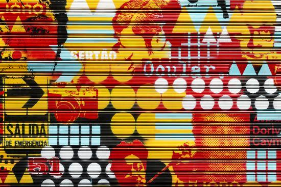 Made in Spain Collection - Colorful Blind Art-Philippe Hugonnard-Photographic Print