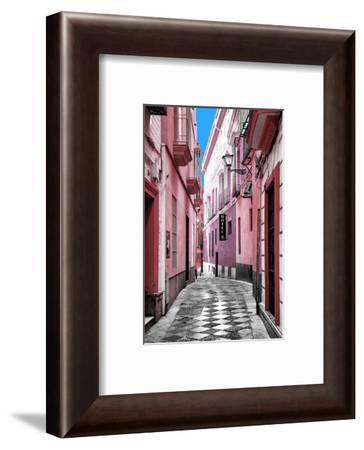 Made in Spain Collection - Colourful Pedestrian Street in Seville V-Philippe Hugonnard-Framed Photographic Print