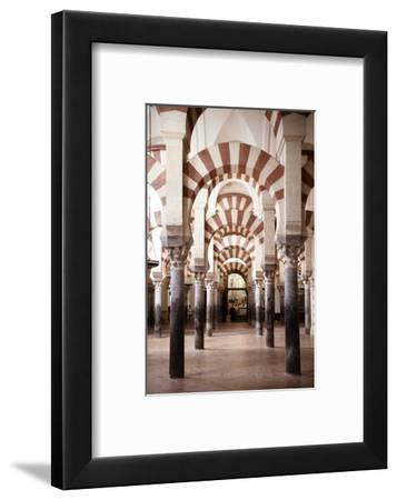 Made in Spain Collection - Columns Mosque-Cathedral of Cordoba-Philippe Hugonnard-Framed Photographic Print