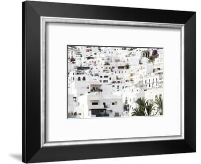 Made in Spain Collection - Mojacar White Village-Philippe Hugonnard-Framed Photographic Print