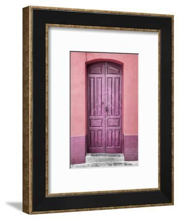 Made in Spain Collection - Pink Door in Seville-Philippe Hugonnard-Framed Photographic Print